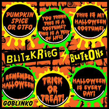 BLITZKRIEG BUTTONS - BUTTONS OF THE DAY - S119
