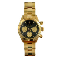 Rolex Yellow Gold Cosmograph Daytona Wristwatch Ref 6263