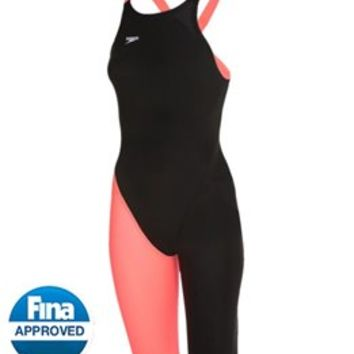 Speedo LZR Racer Elite 2 Comfort Strap Kneeskin at SwimOutlet.com - Free Shipping