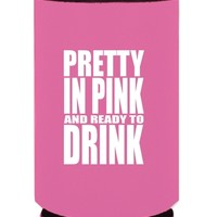 Pretty in Pink Koozie