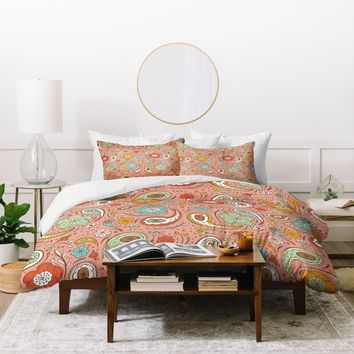 Heather Dutton Adora Paisley Duvet Cover