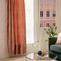 Crushed Velvet Window Curtain | Urban Outfitters