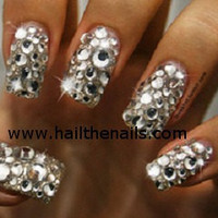 Crystal  Studs Nail Art - This seasons must have nails. 250 Rhinestones per pack