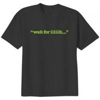 Psych Wait For Iiiiiit Mens T-Shirt