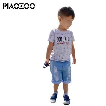 fall fashion boy jeans shorts cowboy baby clothes kids jeans denim Pants Elastic Waist Casual Toddler trouser for 3-8T P30
