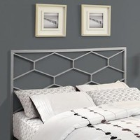 Silver Queen / Full Size Combo Headboard / Footboard Only