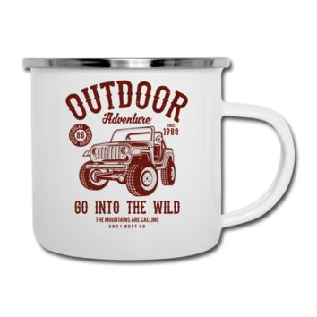 Go Into The Wild Camper Mug