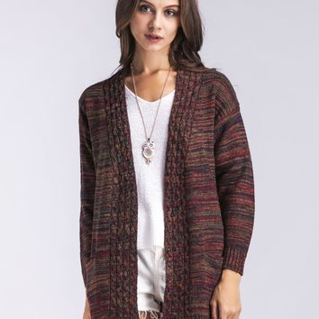 Thick Cardigans Sweater with Pockets