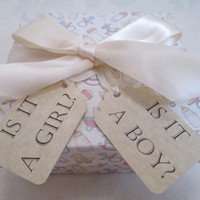 Baby Gender Reveal Box - Baby Girl - Baby Reveal Party - Baby Shower