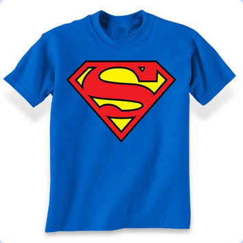 Superman Classic Logo Boys T-Shirt
