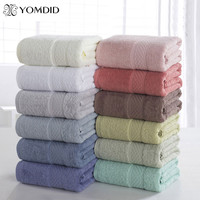 100% Cotton Solid Bath Towel Beach Towel For Adults Fast Drying Soft 12 Colors Thick High Absorbent Antibacterial