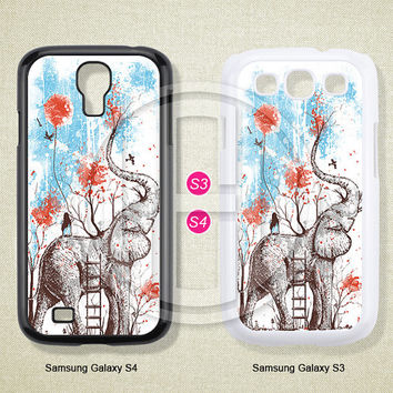 Phone cases,Elephant, Samsung Galaxy S3 S4 S5 Case, Samsung Galaxy Note 2 3 case, Case for Samsung--S0501