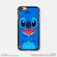 Sky Blue Stitch Line Disney iPhone 6 6 Plus case iPhone 5s 5C case 252