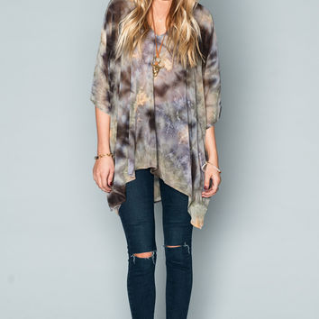 Show Me Your mumu Peta Tunic ~ Tie Dye Dreams