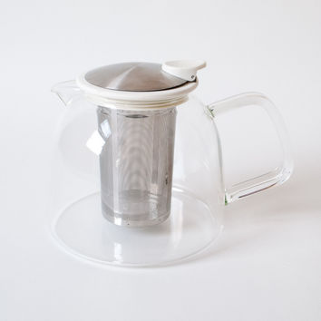 Bell Glass Teapot