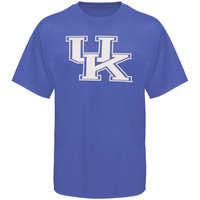 Kentucky Wildcats Royal Blue Logo One T-shirt
