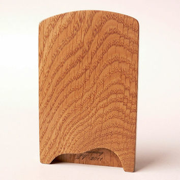 Wooden business card case - original design, made of  oak - by Woodstorming