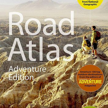 National Geographic Road Atlas - Adventure Edition National Geographic Recreation Atlas MAP