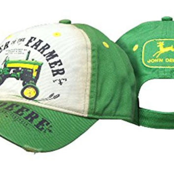 John Deere Power to The Farmer Hat Green