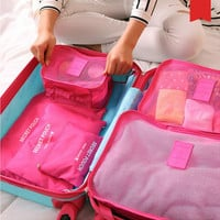 Men Women Waterproof Travel Storage Bag