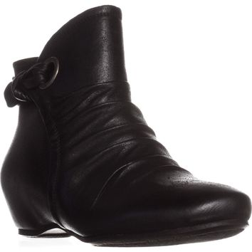 BareTraps Salie Hidden Wedge Ankle Boots, Black, 7 US