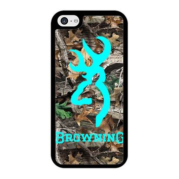 Mint Deer Camo Browning iPhone 5/5S/SE Case