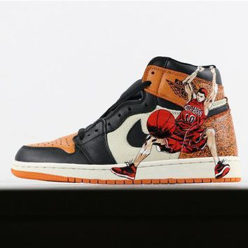 Air Jordan 1 Retro High Shattered Backboard Slam Dunk Hanamichi 3c5df3e879