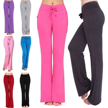 Packii-Womens Soft Comfort Cotton Spandex Yoga Sweat Lounge Gym Sports Athletic Pants = 1933355908
