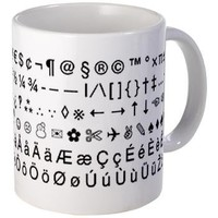 The copypastecharacter.com Mug