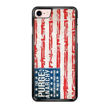 The Purge Anarchy Flag iPhone 7 Case