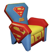 Superman Kids Icon Recliner Chair