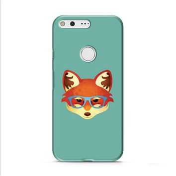 Fox With Glasses Google Pixel XL 2 case