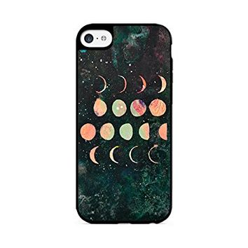 Moon Phases - Lunar Phases - Hipster Moon Phases - iPhone 6/6S - (C) Andre Gift Shop