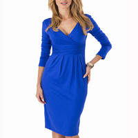 Big Size Ladies Office Dress