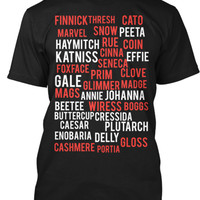 The Hunger Games Names Shirt