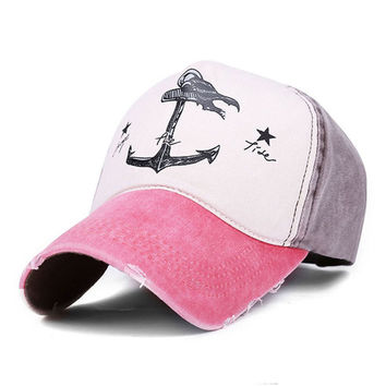 Snapback Casquette Pirate Anchors Baseball Cap