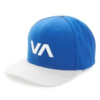 Men's RVCA 'VA' Snapback Hat - Blue