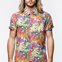 Vans Cosgrove Short Sleeve Woven Shirt - Mens Shirt - Multi Color