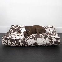Animal Print Rectangle Bed