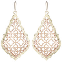 Kendra Scott Addie Drop Earrings - Rose Gold