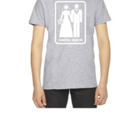 GAME OVER (HATE MARRIAGE) dark background - Youth T-shirt