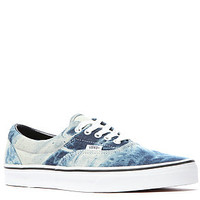 The Vans Era Sneaker in Blue Acid Denim