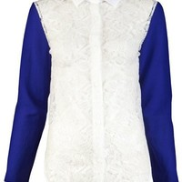 Carven Lace Blouse - Satine
