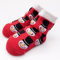 Winter Baby Pattern Cotton Socks [8854575814]