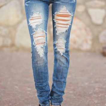 Best Selling Destroyed Skinny Jeans!