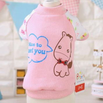 Hot Soft Warm Cotton Dog Clothes Winter Pet Coat Minions Dogs Costume Puppy Clothing Jacket Teddy Hoodie Coat For Dogs XS-XL