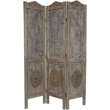Bohemian Home 6-foot Antique Finish Room Divider
