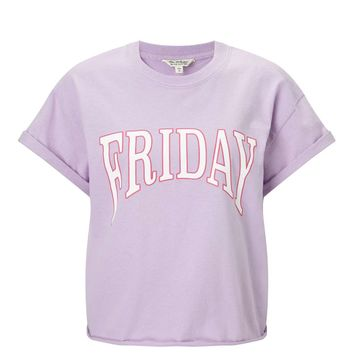 Lilac Friday T-Shirt | Missselfridge