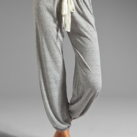 eberjey Heather Pant in Light Gray