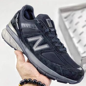 Trendsetter New Balance 990v5  Women Men Fashion Casual Sneakers Sport Shoes